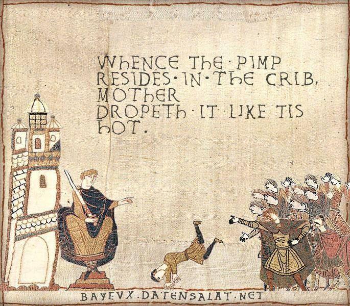 Bayeux Tapestry Art Memes Classical Art Memes Medieval Memes