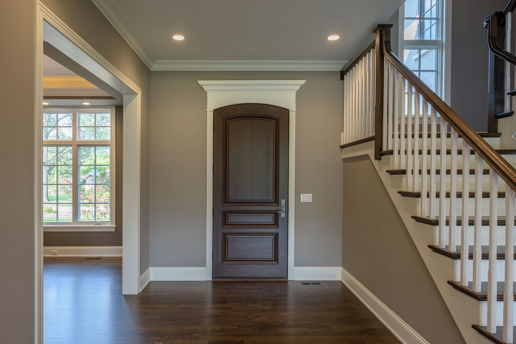 High End Single Front Entry Door In Dark Finish Door Gallery In Stock And Custom Wood Doors In 2020 Custom Entry Doors Custom Wood Doors Entry Doors