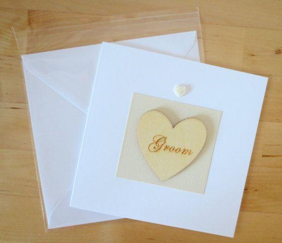 groom card groom wedding card wedding day card groom bride to