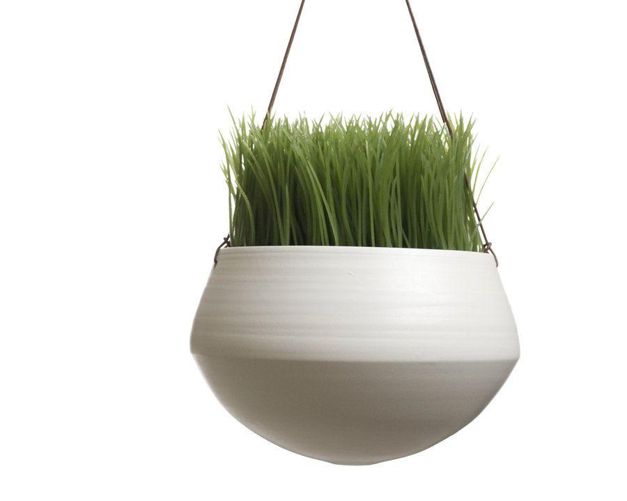 Hanging Planter - Large - Mother's Day - Handmade Ceramic Planter. $75.00, via Etsy.