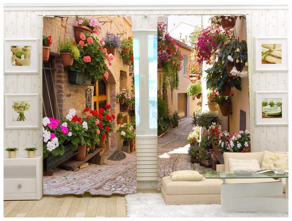 Fotogardinen 3D in alle Größe erhältlich Foto Vorhang mit Motiv - gardinen und vorhänge für wohnzimmer