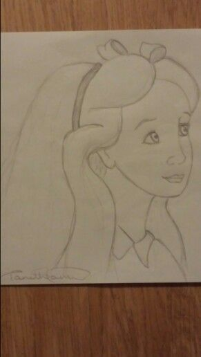 Day 20. Literary Character. Alice, from Alice in Wonderland.
