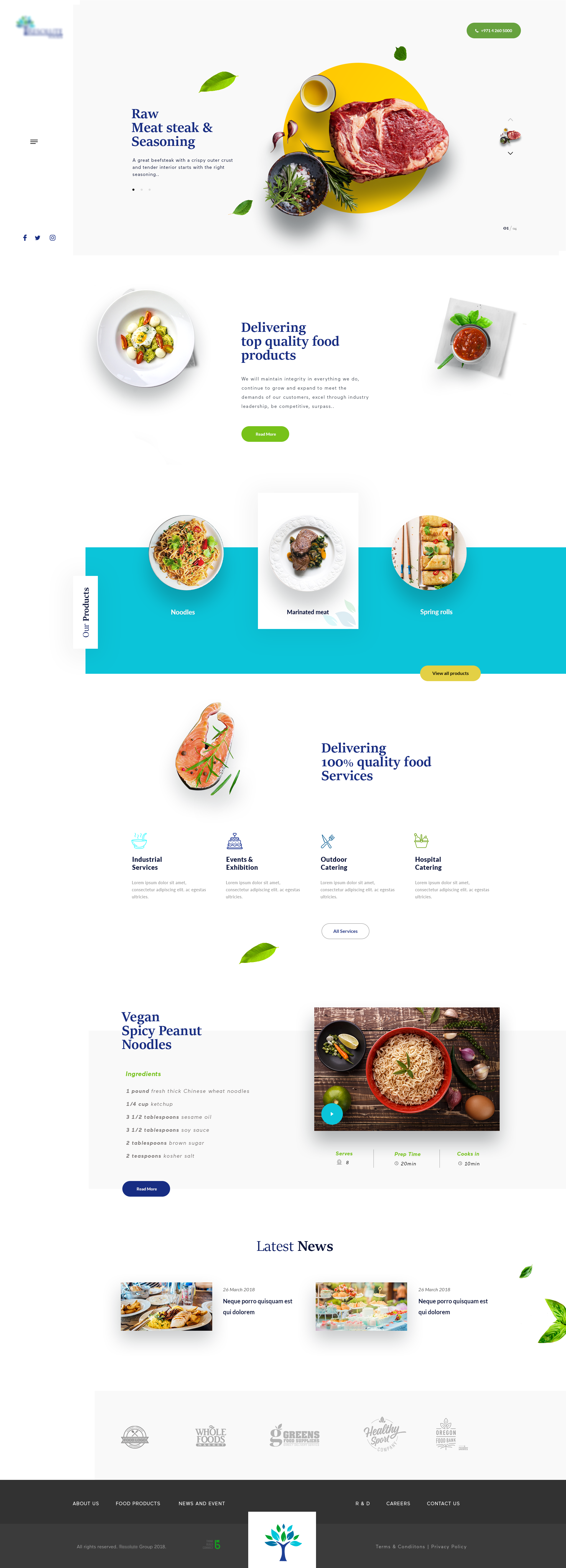 Bakery Web Template and start edit this web template