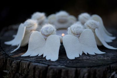 Hinterland Mama: Christmas Giveaway!!! The most beautiful Dancing Angel kit, from 'zuzu'