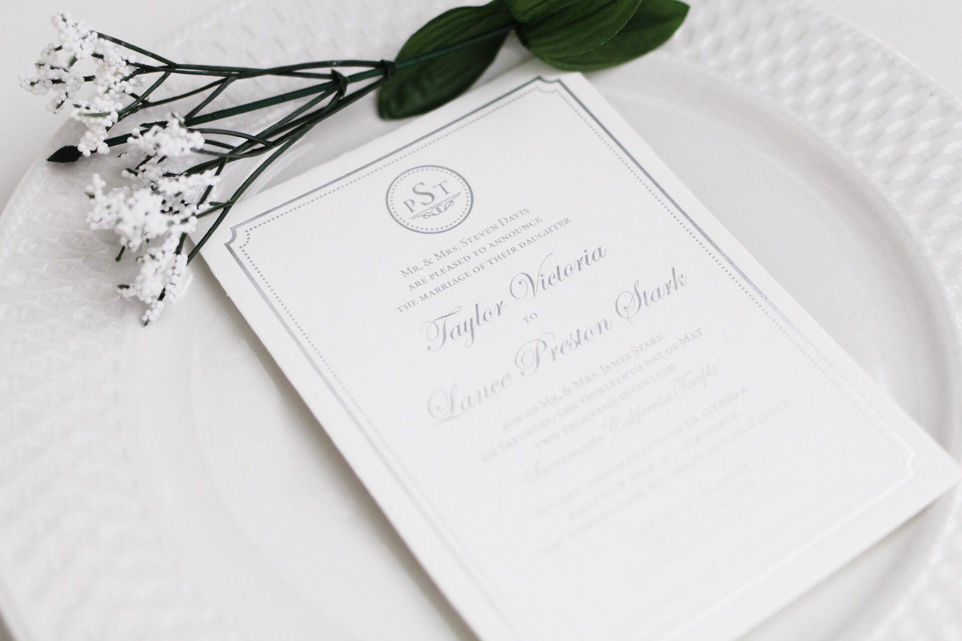 Pin By Kim Hess On Invites Announcements Pinterest Elegant