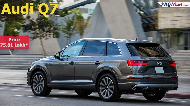 Audi Q7 Model Power Mileage Safety Colors Sagmart Audi Q7 Audi Automatic Cars