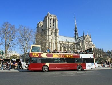 News Paris Sightseeing Big Bus Paris Paris Tours