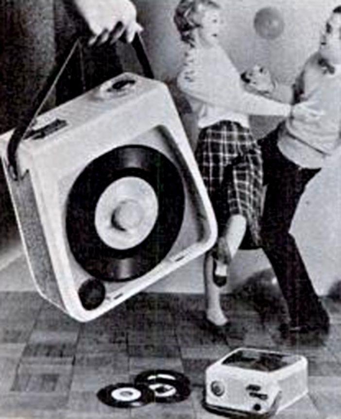 Swing-Along 6550, radio-phono combination, 1963
