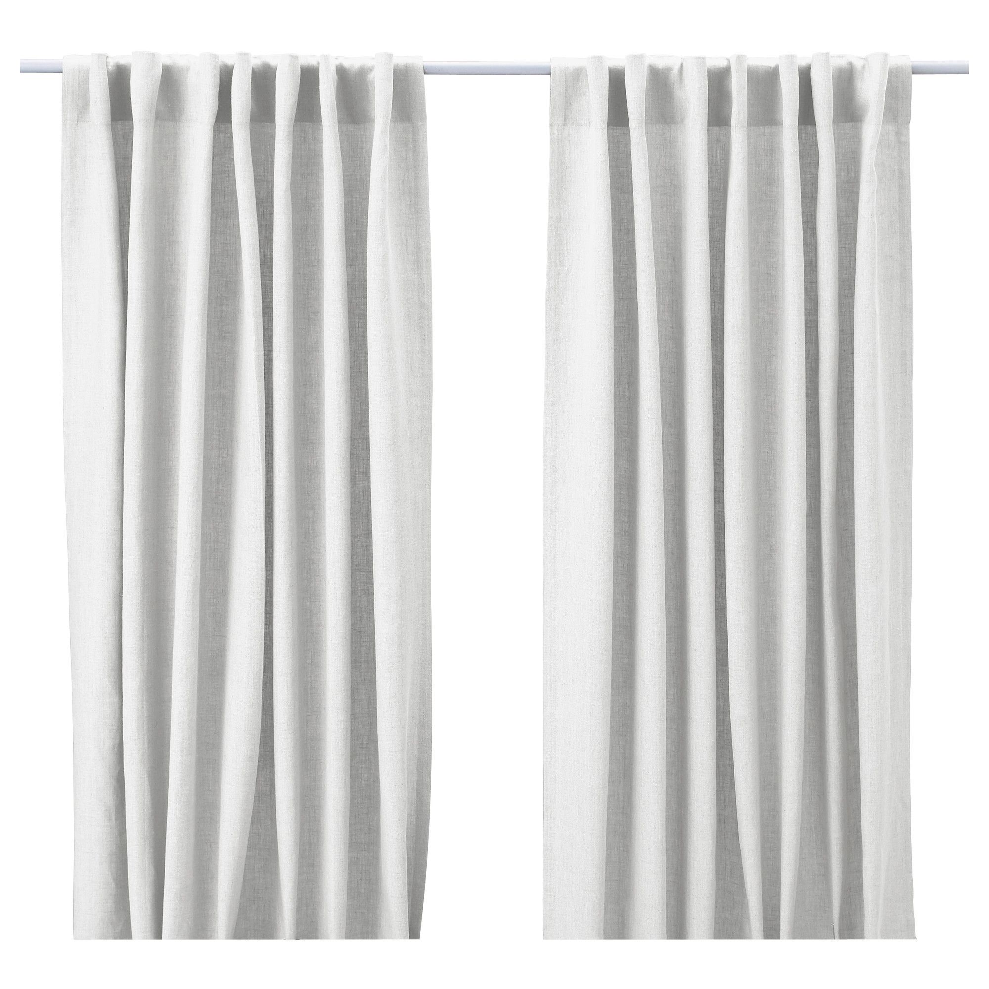 Gardinen Ikea Aina Aina Curtains 1 Pair White New House In 2019 Linen