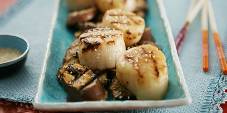 Miso grilled eggplant and scallops receta forumfinder Choice Image
