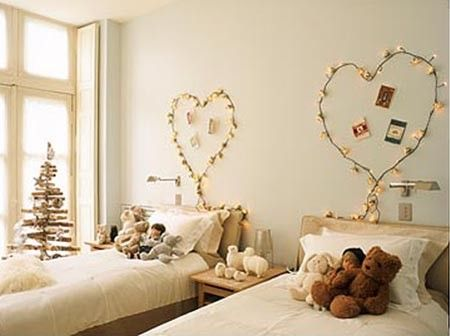 Decorate your children\u0027s bedrooms for the holidays-- something they - Childrens Bedroom Ideas
