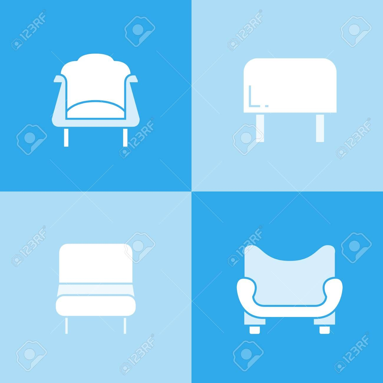Sofa Icons Chair Icons Ad Sofa Icons Chair In 2020 Template Design Presentation Templates Design