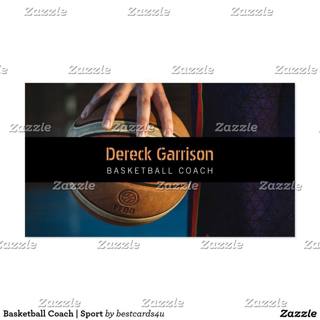 Basketball coach sport business card business cards and business basketball coach sport business card colourmoves