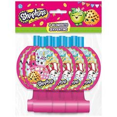 Shopkins Party Blowers Pack Of 8 One Size