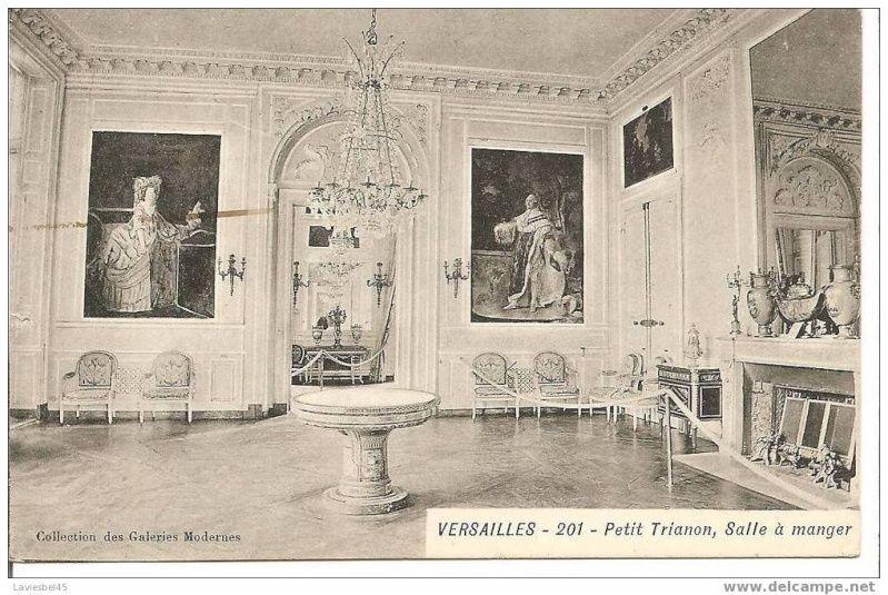 La visite du Petit Trianon La salle à manger - Page 2 PT1 - salle a manger louis