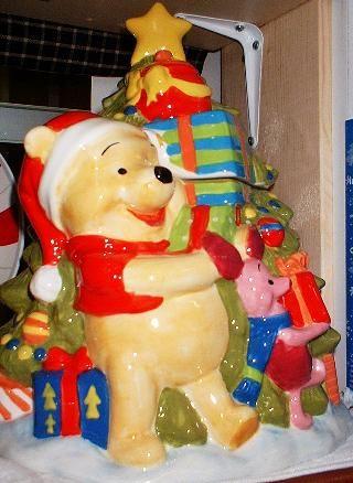 Winnie the pooh christmas cookie jar Cookie Jars Pinterest