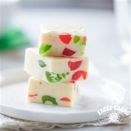 White Christmas Jewel Fudge Fudge Recipes Christmas Fudge Fudge Recipes Chocolate