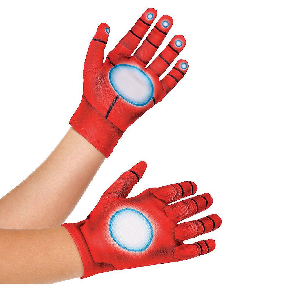 Child iron man gloves mens gloves marvel costumes