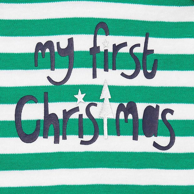 'My First Christmas' Bodysuit My first christmas, First