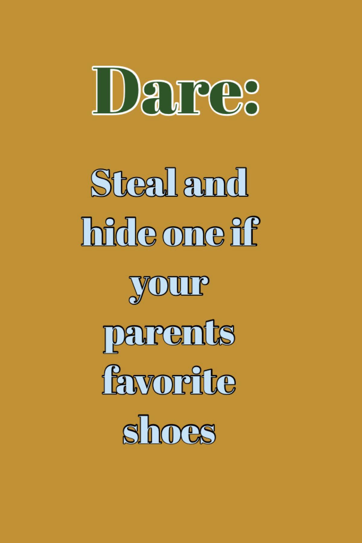 Dare For Truth Or Dare Game  Truth, Dare, Truth Or Dare -3969
