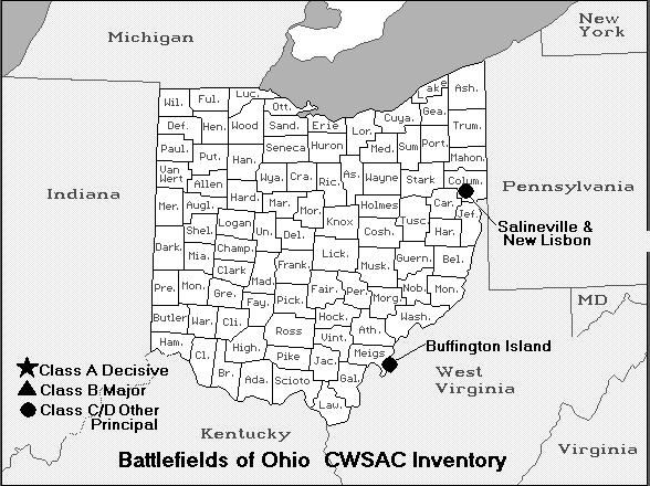 Ohio Civil War Battles  18611877 The Civil War