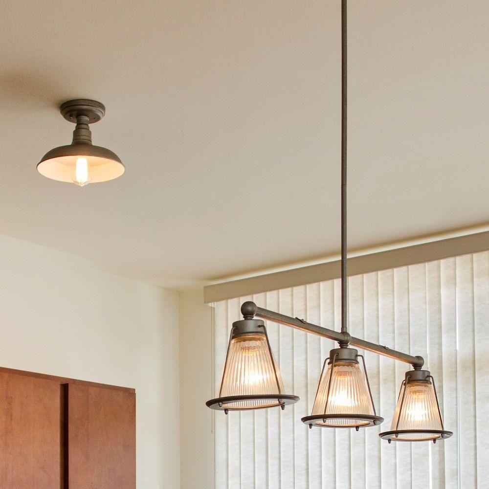 Design house essex light textured coffee bronze indoor pendant