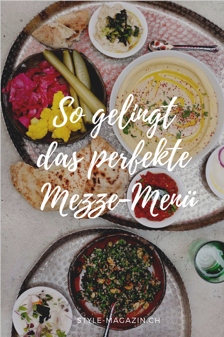 So gelingt das perfekte Mezze-Menü