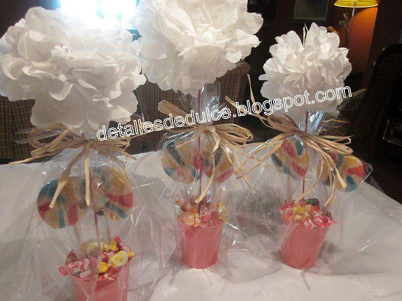 Centros de mesa para el dia del padre centros de dulce - Centros de mesa para comunion de nino ...