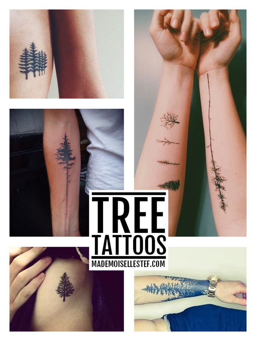 Tattoo Ideas #37 - Tree I Mademoiselle Stef