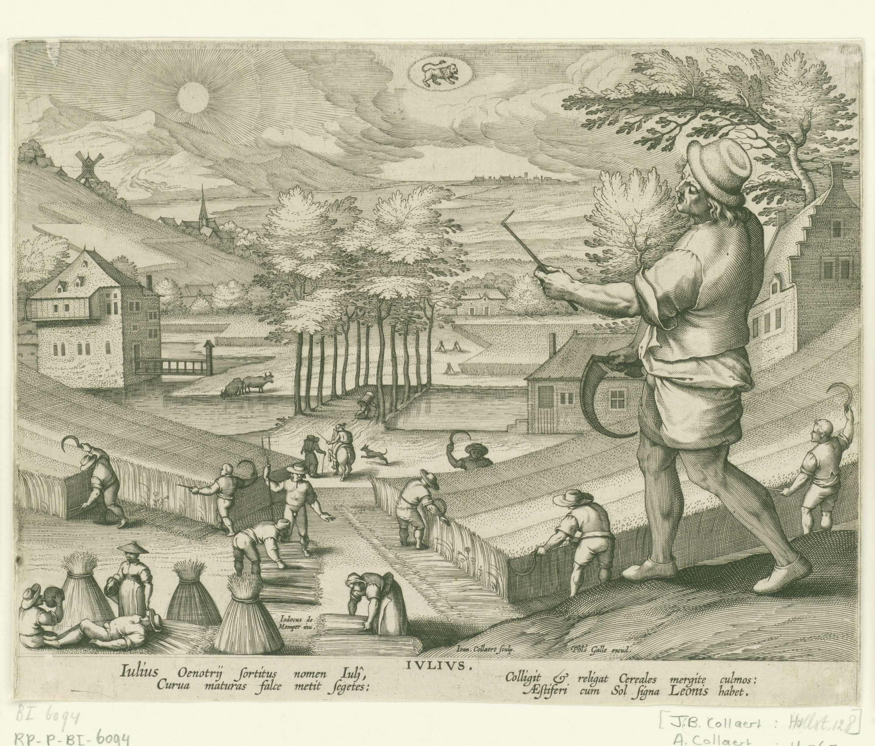 Julius - Jan Collaert (II), Cornelis Kiliaan, Philips Galle, 1586 - 1618