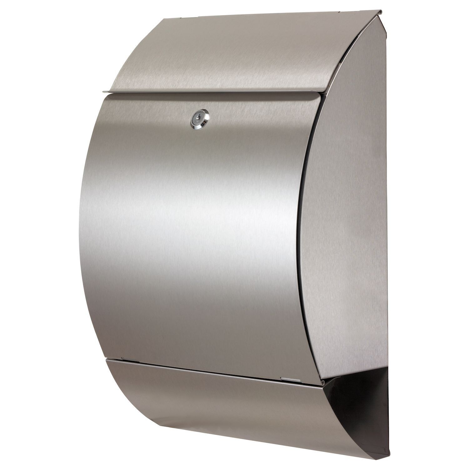 Zelsius 174 Letter Box With Newspaper Holder Stainless