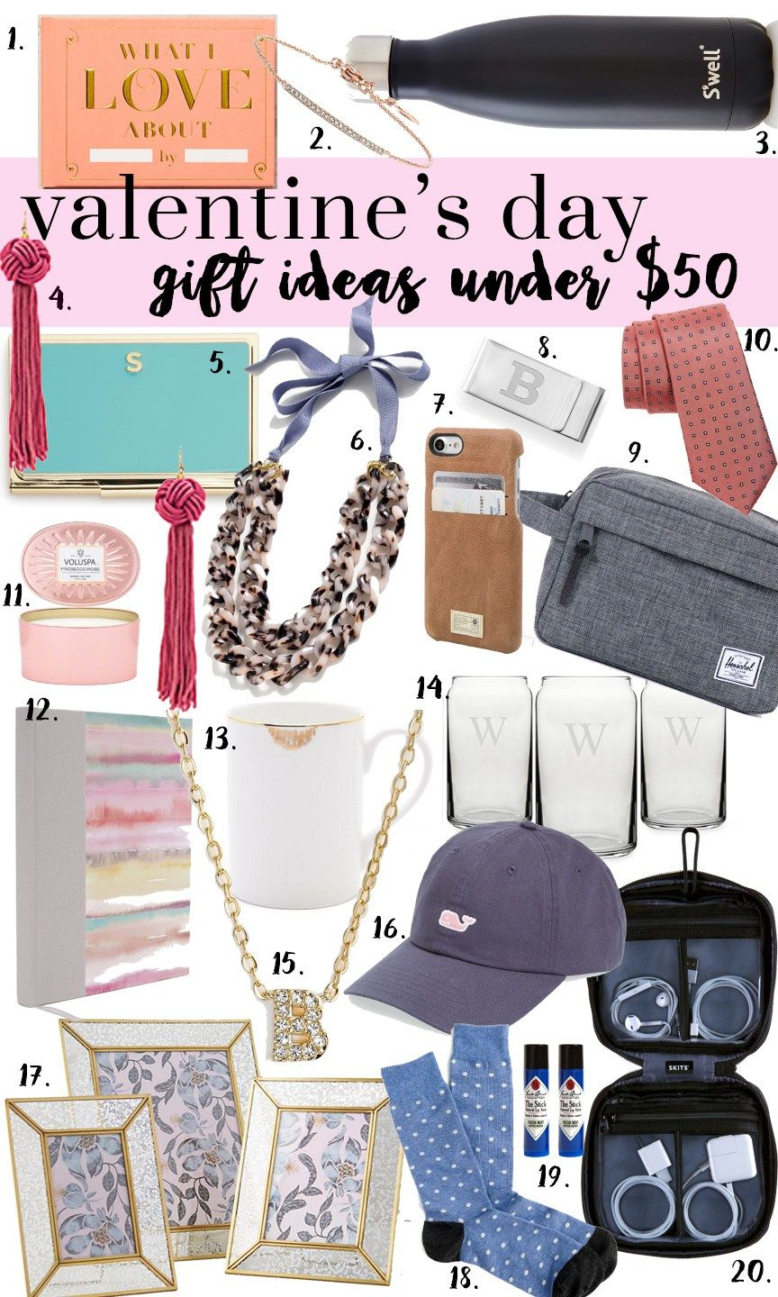 fa21ea985e702 Valentines Day Gifts Under 50! Budget friendly VDay gift ideas for him    her ft. Nordstrom