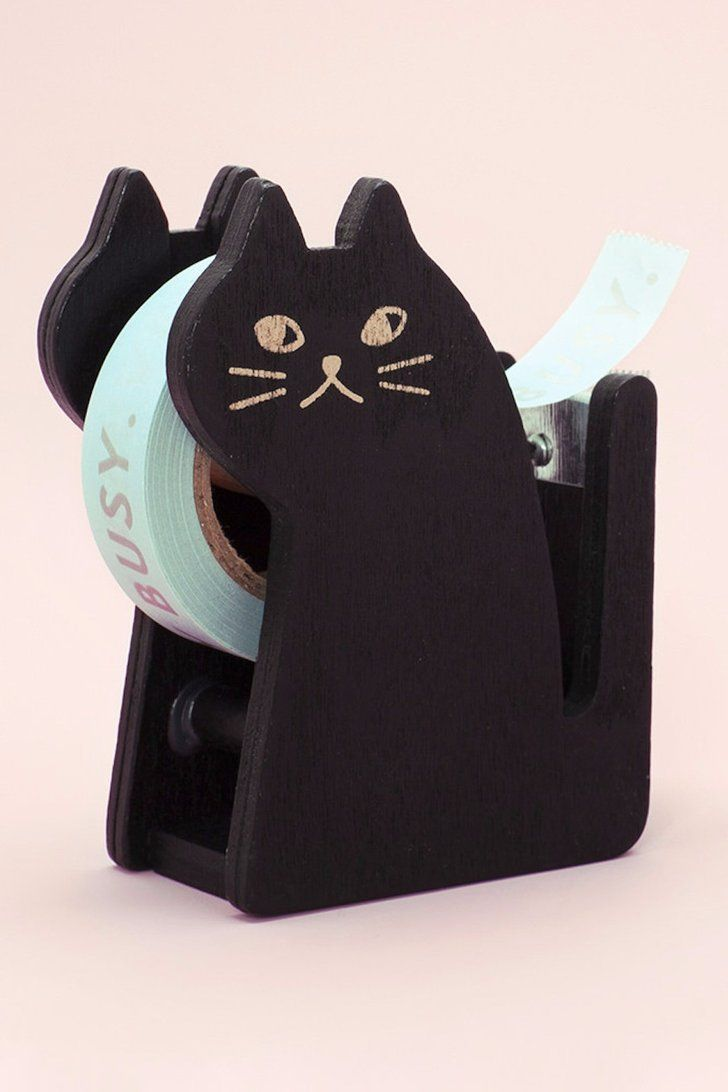 17 Cute Desk Accessories For The Proudest Cat Lady At The Office Black Cat Cute Desk Accessories Cat Accessories