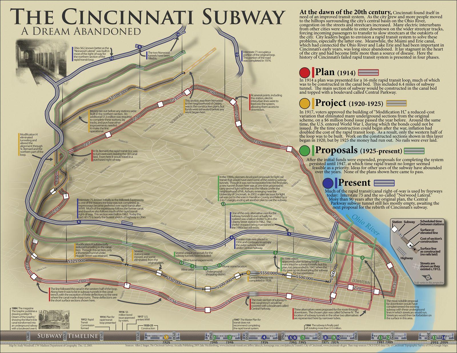 Cincinnati Subway Map.Cincinnati Subway System Cincinnati In 2019 Cincinnati Subway