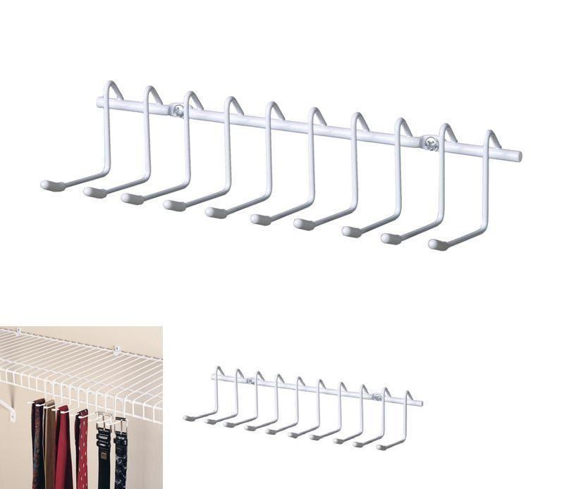 Tie Belt Hanger Holder Bedroom Durable Chrome Rack 10 Hooks Organizer Closet New Closetmaid Wire Shelving Hanger Rack Organizing Wires
