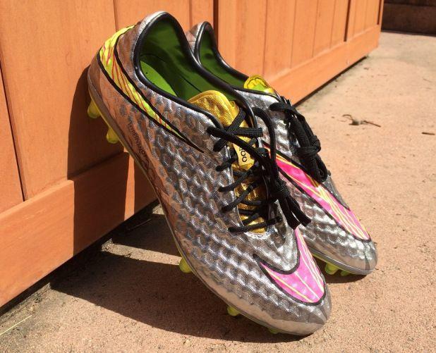 5f77ea3a7aa Nike Hypervenom Phantom 2015 Neymar Liquid Diamond Hypervenom Soccer Shoes