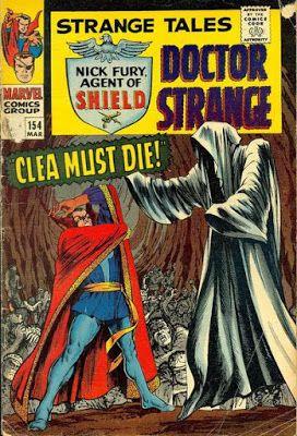 Strange Tales #154, Dr Strange