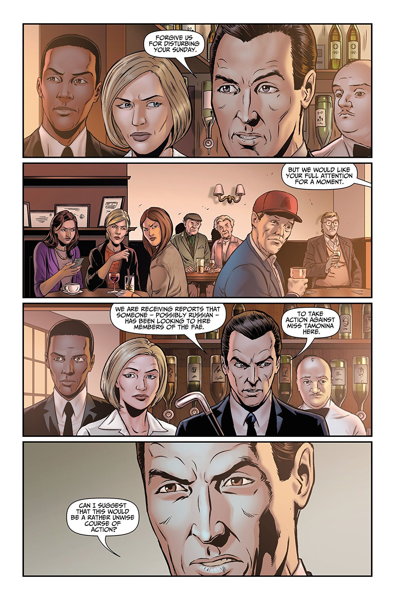 Comic Inspiration For Thomas Nightingale Peter Grant And Lesley May From Rivers Of London