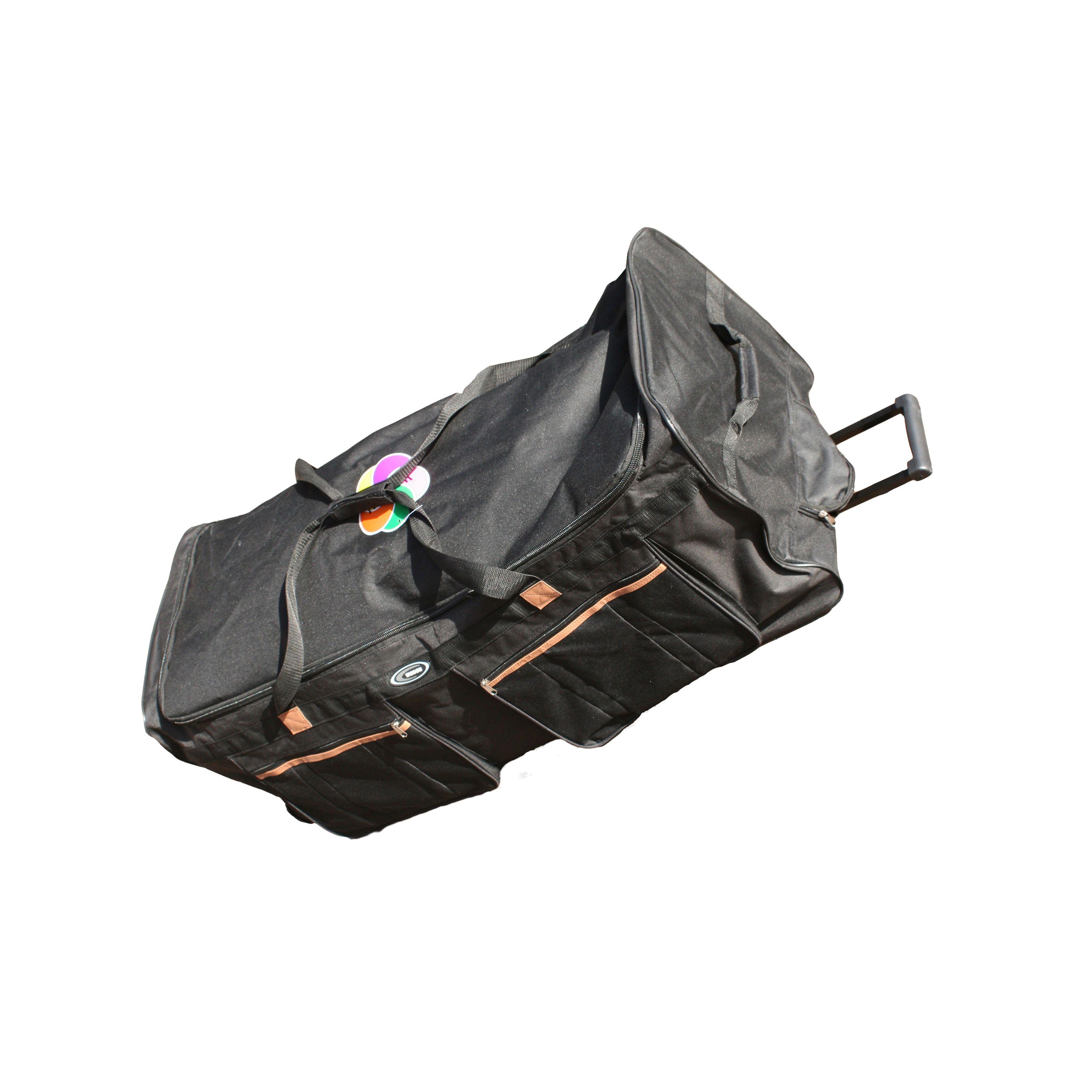 Transglobe Wisdom Rwb 40 Inch 1200 Denier Rolling Upright Duffel Bag