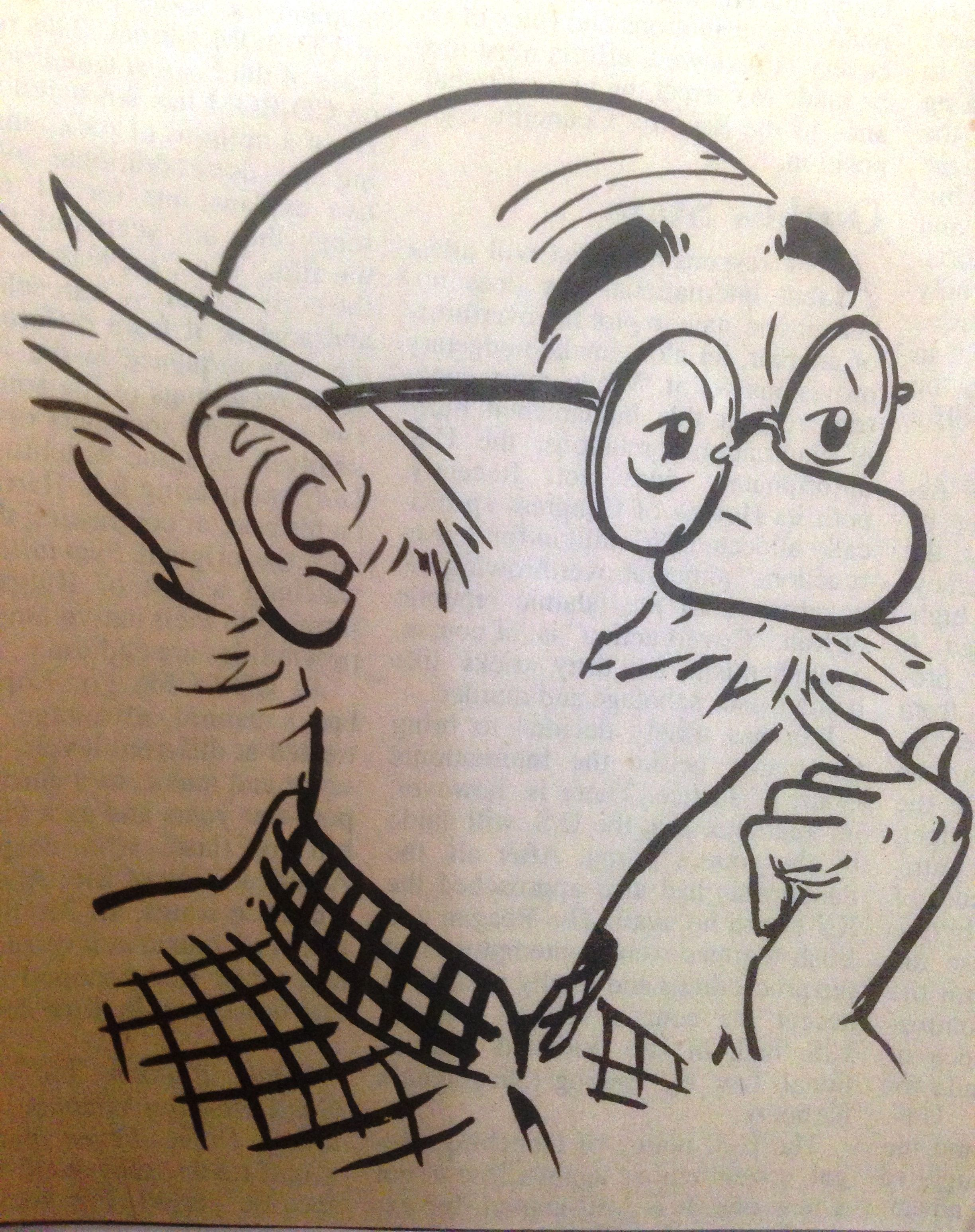 Common Man By R K Laxman Caricature Sketch Caricature Drawing