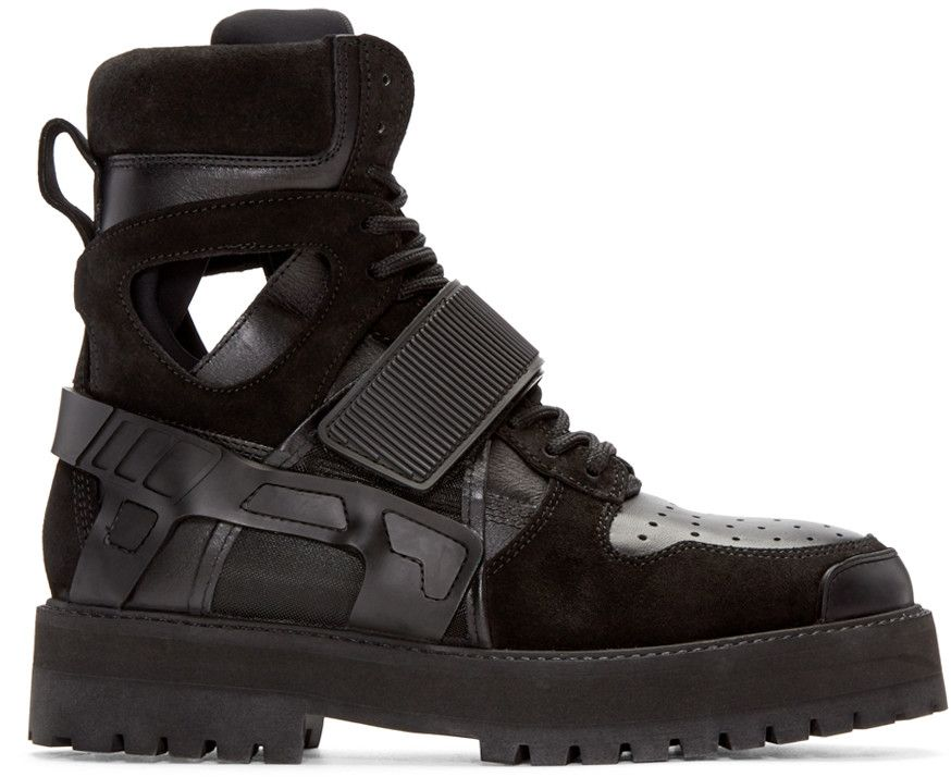 Avalanche boots - Black Hood By Air aJJi3