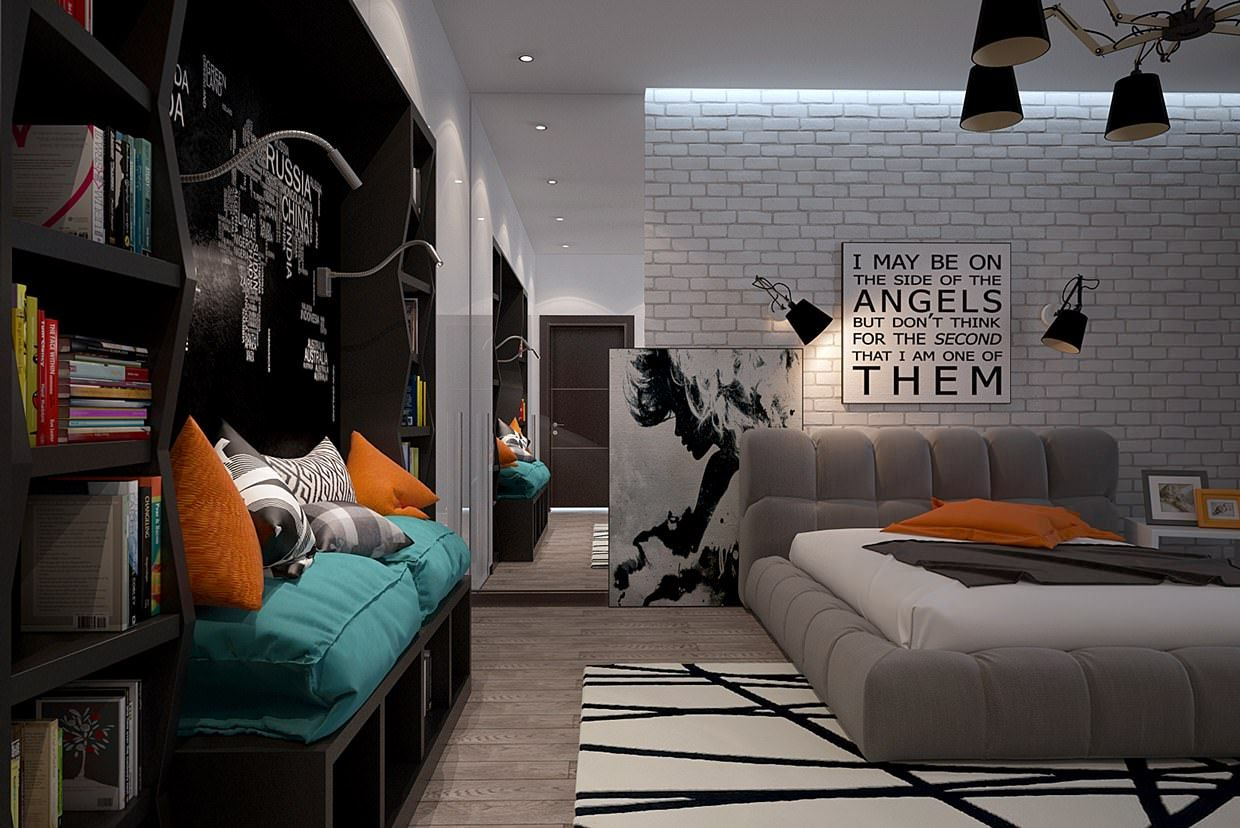 Classic Teen Boys Study Room Henrys bedroom Pinterest Study