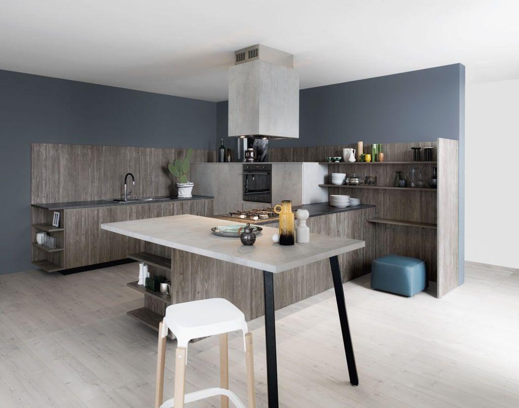 Mila di cesar moderno Wandfarbe küche, Moderne küche