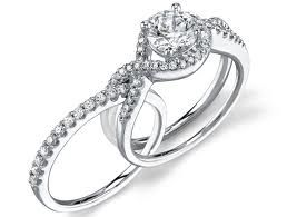 I Love Rings That Fit Together Engagement Rings Twisted Bling Wedding Custom Wedding Rings