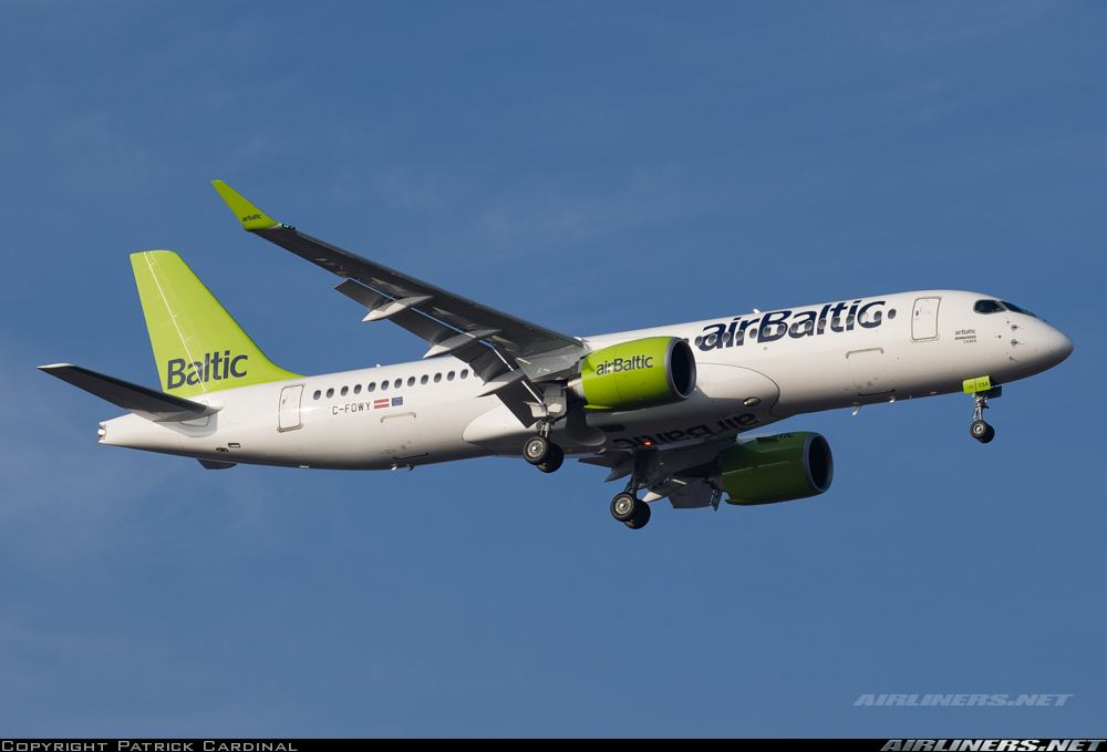 Bombardier CSeries CS300 (BD-500-1A11) - Air Baltic | Aviation Photo #4080343 | Airliners.net