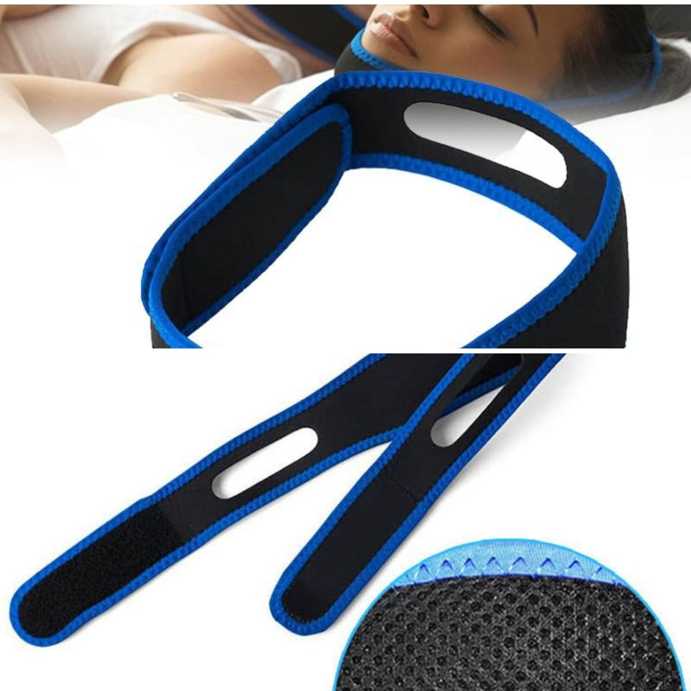 Anti Snoring Chin Strap For Stopping Bruxism, Nose Snoring
