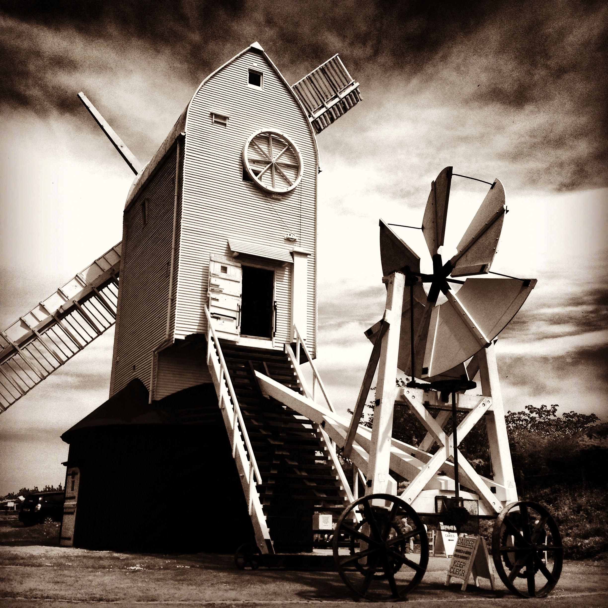 The fantastic Jill Windmill, a Grade 2 listed building in Clayton..