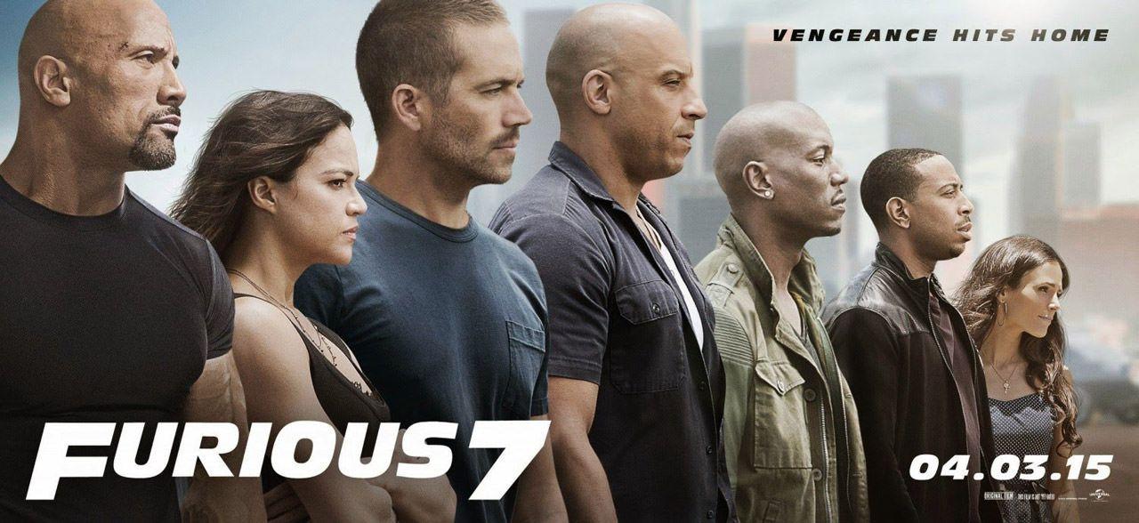 Fast and Furious 7 Fragman - Film Kapağı