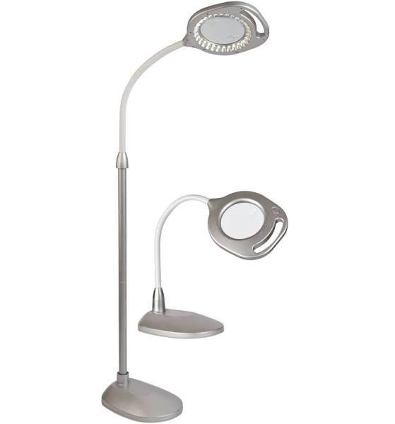OttLite 2 - in - 1 LED Magnifier Floor & Table Lamp ...