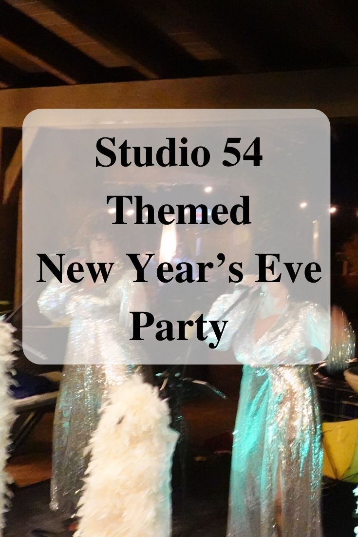 Studio 54 Themed New Year's Eve Party in 2020 Eve